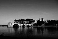 Avignon, Stadt an der Rhône
